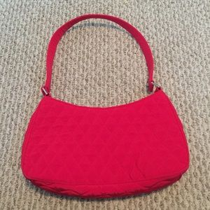 Vera Bradley Red Tango quilted Purse